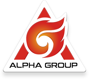 Alpha Group logo.
